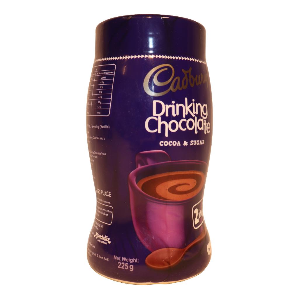 how much caffeine in cadbury drinking chocolate