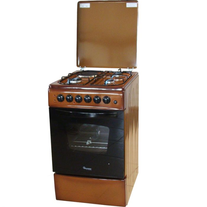 Ramtons 3 Gas 1 Electric Free Standing Cooker Rf405 Brown