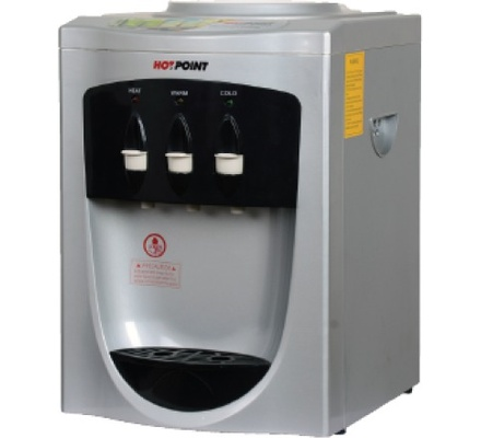 Hotpoint Water Dispenser HWDC1100S/1000S in Kenya Table Top Water Dispenser - Room Temp - Silver